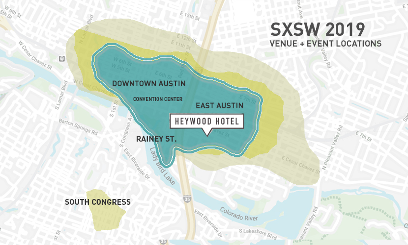 5 Tips for SXSW 2019 ⋆ Heywood Hotel Blog Downtown Austin Hotel Map on anaheim hotel map, hotels 6th street austin map, hotels old montreal map, lake leatherwood eureka springs trail map, hotels austin tx map, judgmental austin map, hotels downtown austin tx, violet crown austin greenbelt trail map, austin texas map,